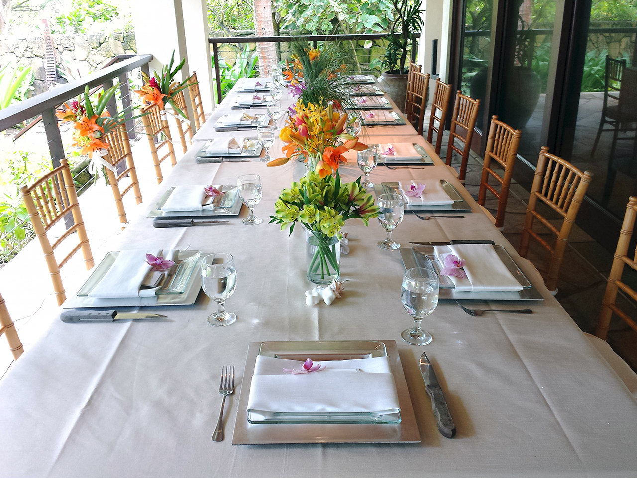 Filipino table setting - Simpleset Tablesetting
